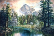 NATURES WONDERLAND     - Tile Mural