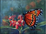Monarch    - Tile Mural