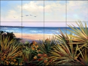 Summers Day    - Tile Mural