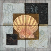Westport Scallop    - Tile Mural