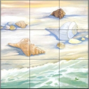 Bay Tide    - Tile Mural