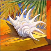 PB-White Conch - Accent Tile