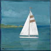 PB-Square Sailboat - Accent Tile