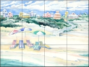 Seaside Shade    - Tile Mural