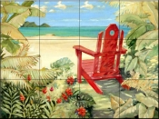 Shoreline View    - Tile Mural