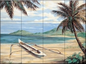 Outrigger Cove    - Tile Mural