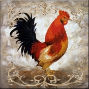 Rooster I - Accent Tile