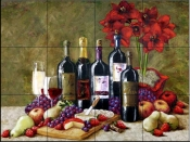 Bountiful Elegance    - Tile Mural