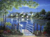 Bay Point Reflections    - Tile Mural