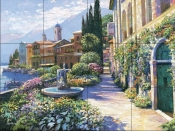 Splendor Of Italy    - Tile Mural