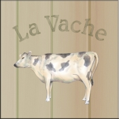 LS-La Vache (Cow) - Accent Tile