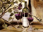 Ripe From The Vine    - Tile Mural