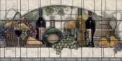 Wine Fruit and Cheese Pantry    - Tile Mural