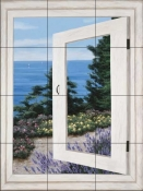 DR-Bay Window Vista II    - Tile Mural