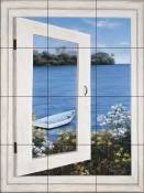 DR-Bay Window Vista I    - Tile Mural