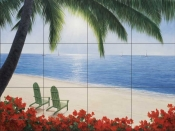 By The Sea  2  - Tile Mural
