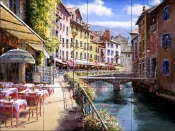 Annecy    - Tile Mural