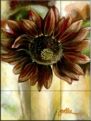 Mexican Sunflower    - Tile Mural