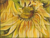 Sunflower    - Tile Mural