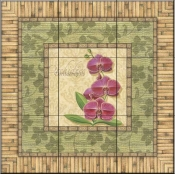 Bright Orchids IV   - Tile Mural