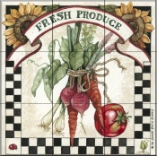 Fresh Produce   - Tile Mural
