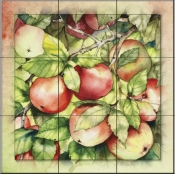 Apples   - Tile Mural