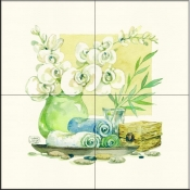 Spa Delight I    - Tile Mural