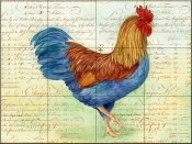 Rooster 5  - Tile Mural