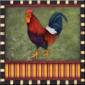 DM-Fancy Rooster 2 - Accent Tile