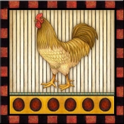 DM-Fancy Rooster 5 - Accent Tile