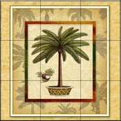 Palm Tree 1   - Tile Mural