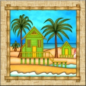 DM-Surf Shack 1 - Accent Tile