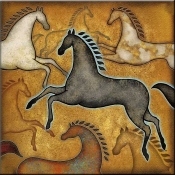 DM-Southwest Horse 3 - Accent Tile