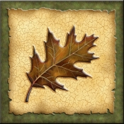 DM-Lodge Oak Leaf 3 - Accent Tile