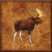 DM-Lodge Moose 3 - Accent Tile