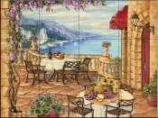 Afternoon Lunch  - Tile Mural