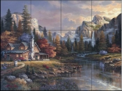JL-Home at Last  - Tile Mural