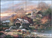 JL-Old Mill Creek  - Tile Mural