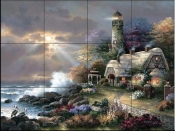 JL-Heaven's Light  - Tile Mural