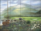 SB-The Signature Hole  - Tile Mural