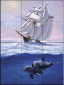SB-Sharing the Sea  - Tile Mural
