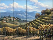 SK-Vineyard Village  - Tile Mural