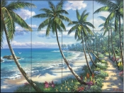 SK-Pathway to Paradise  - Tile Mural