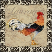 PB- Bergerac Rooster XI - Accent Tile