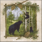 AP- Bear Family - Accent Tile