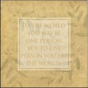 JM- To the World - Accent Tile