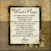 JP- The Lord's Prayer - Accent Tile