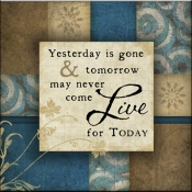 JP- Live for Today - Accent Tile
