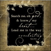 JP- Search Me Oh God - Accent Tile