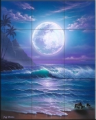 Island Dreams-JW - Tile Mural